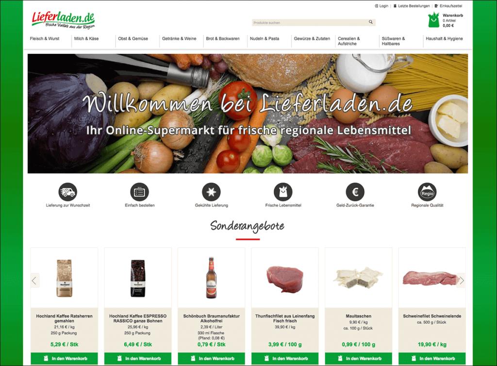 Lieferladen.de online supermarket