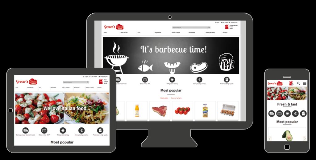 SAAS FOOD COMMERCE CLOUD E-COMMERCE SOFTWARE