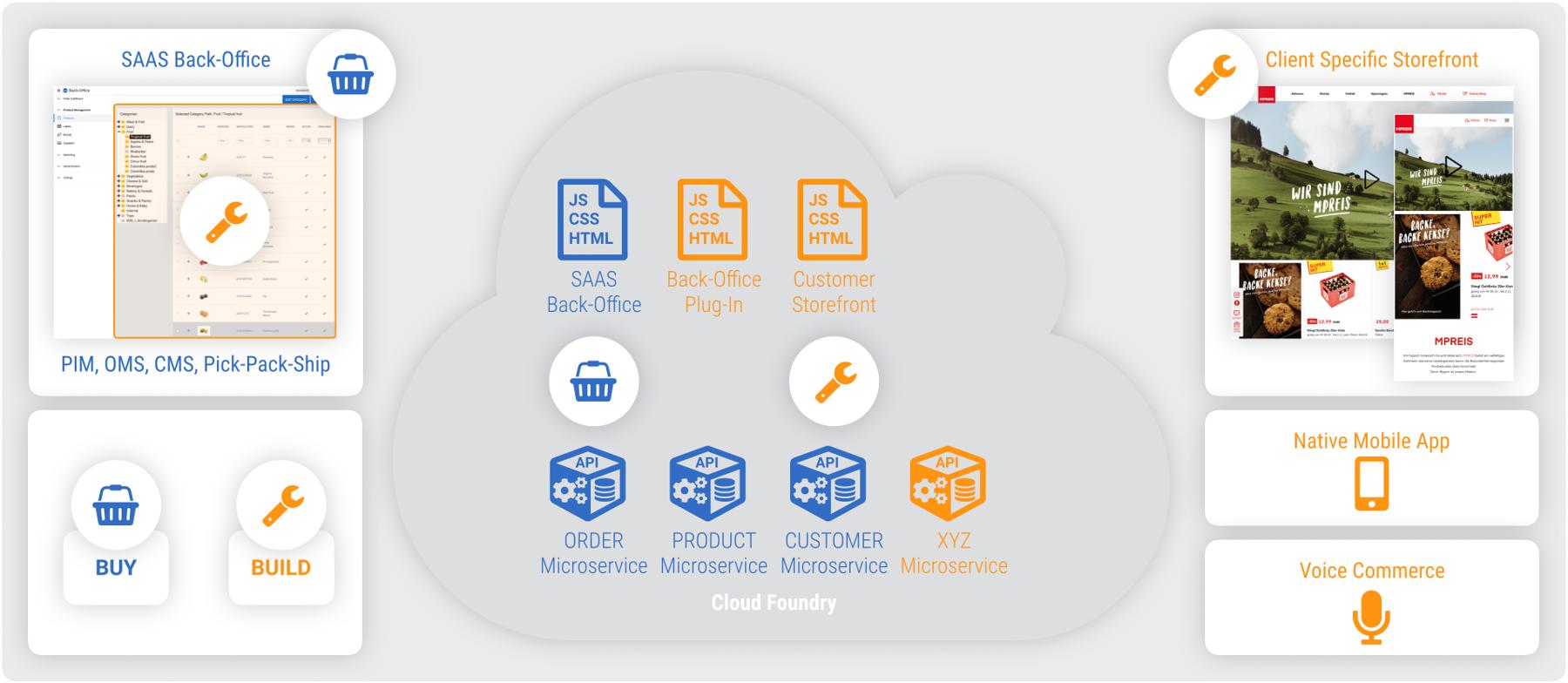 SAAS Cloud-native Software