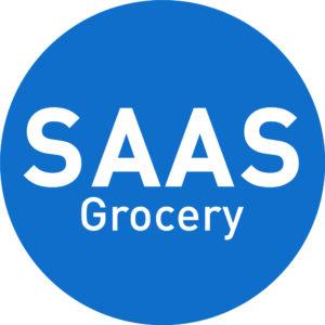SAAS sell groceries online logo