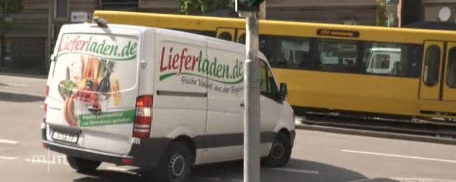 Lieferwagen von Lieferladen.de in Stuttgart