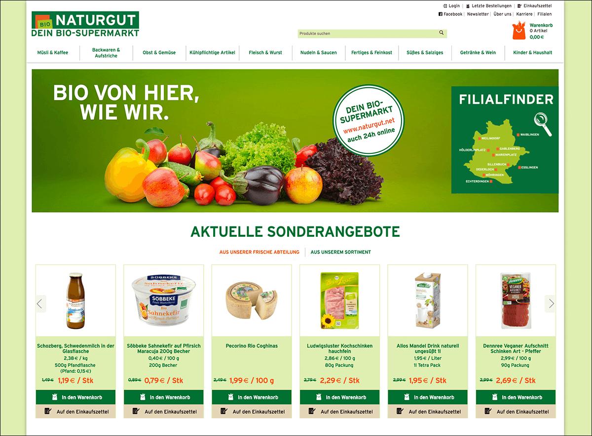 NATURGUT Lieferservice für Bio-Lebensmittel
